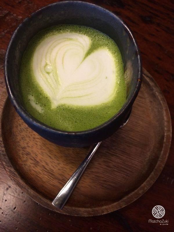 Hot Matcha Latte มัทฉะลาเต้ร้อน