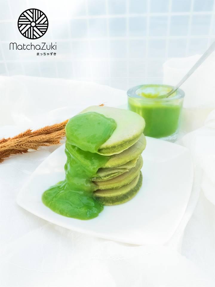 Matcha Pancake แพนเค้กชาเขียว