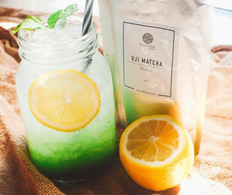 Matcha Lemon Soda ชาเขียวมะนาวโซดา