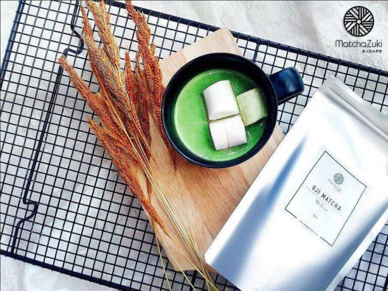 Matcha White Hot Chocolate