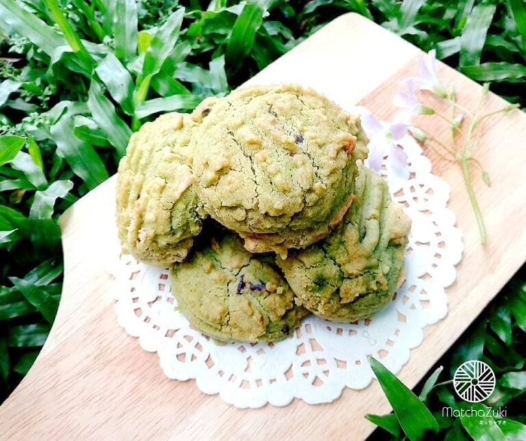 Matcha Cookies คุกกี้ชาเขียว