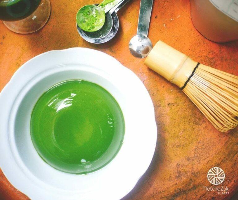 Matcha Pudding พุดดิ้งชาเขียว