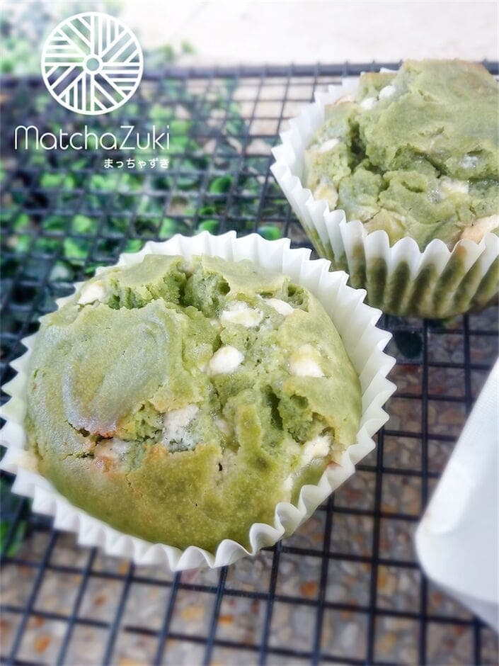 Muffin Matcha White Choc