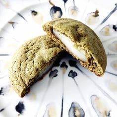 moji matcha cookie
