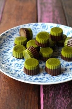 Two - tone Matcha Chocolate