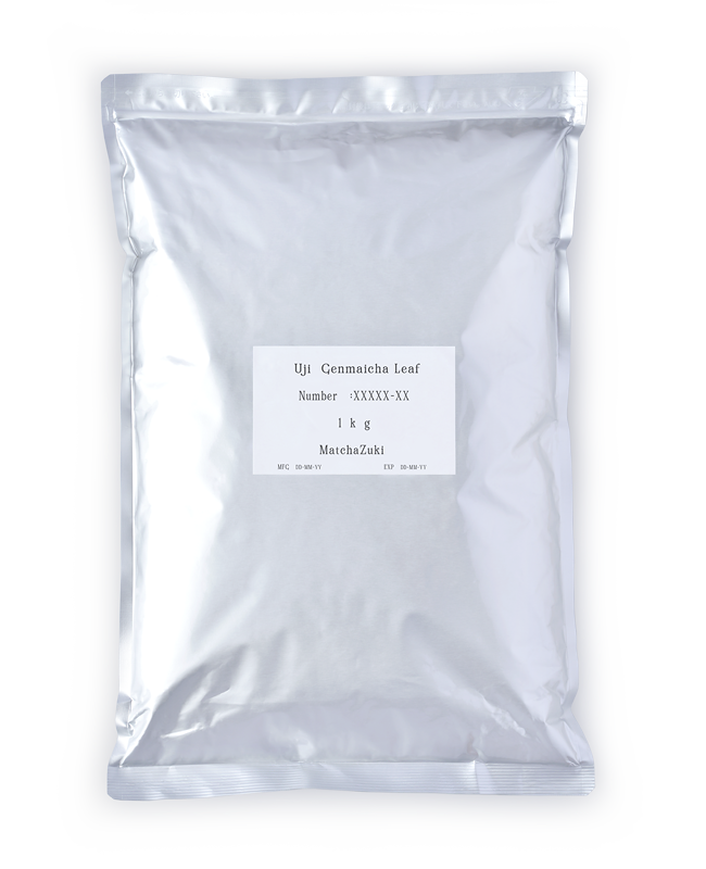 MATCHAZUKI GENMAICHA (LEAF) 1kg