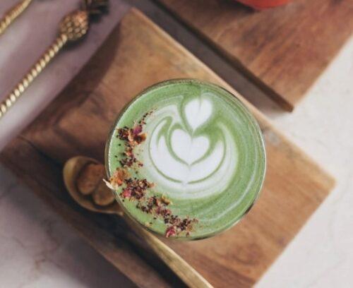Matcha Latte Art
