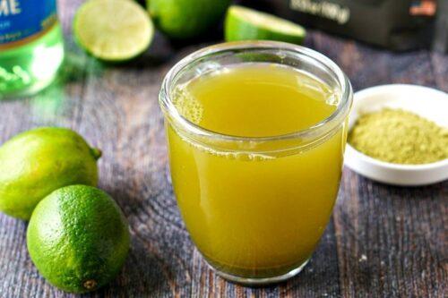 Lemon Matcha Latte