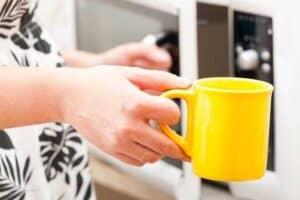 make matcha by using microwave