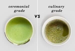 Ceremonial grade&Cooking grade